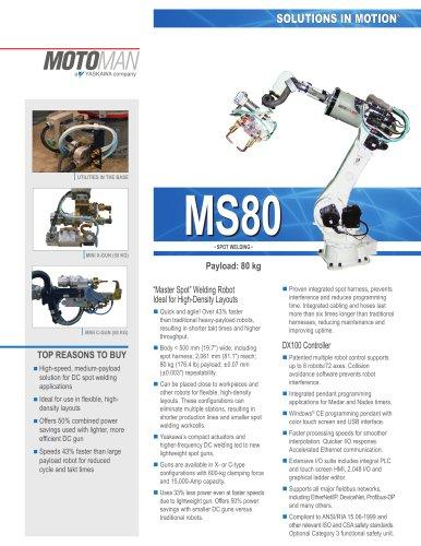 """Motoman MS80 """"Master Spot"""" Welding Robot"""