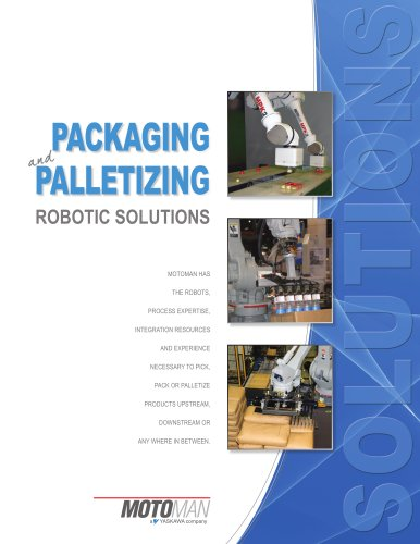 Motoman Packaging & Palletizing Solutions