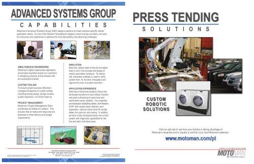 Motoman Press Tending Solutions