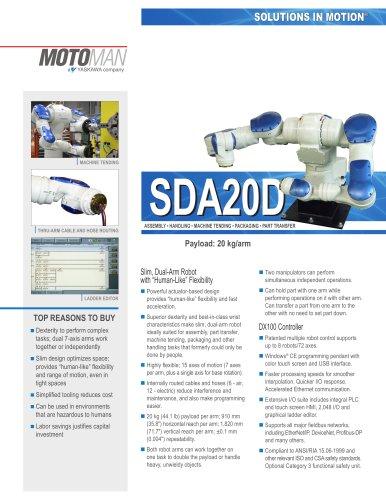 Motoman SDA20D Dual-Arm Robot