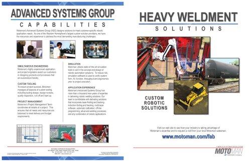 Motoman Solutions - Heavy Weldments