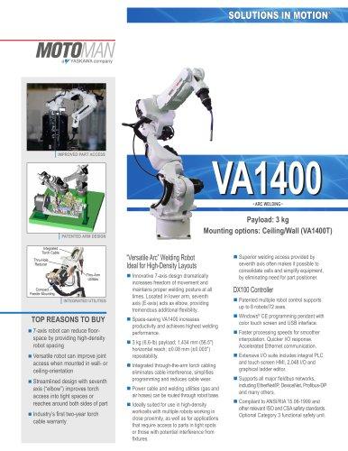 "Motoman VA1400 ""Versatile Arc"" Welding Robot"