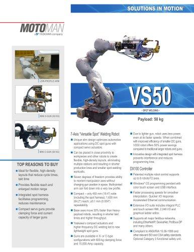 "Motoman VS50 ""Versatile Spot"" Welding Robot"