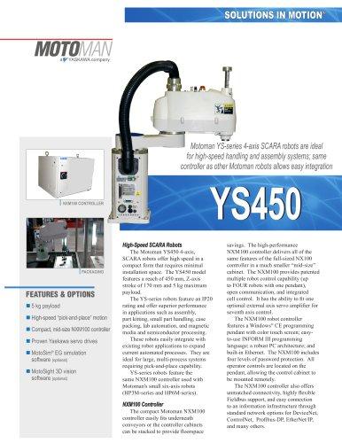 Motoman YS450 4-Axis SCARA Robot