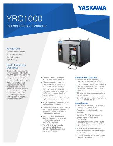 YRC1000 Industrial Robot Controller