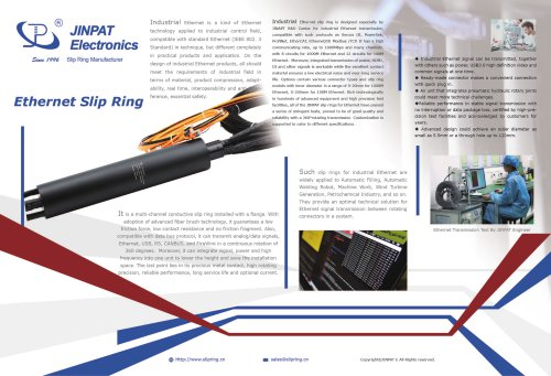 JINAPT new Ethernet Slip Ring