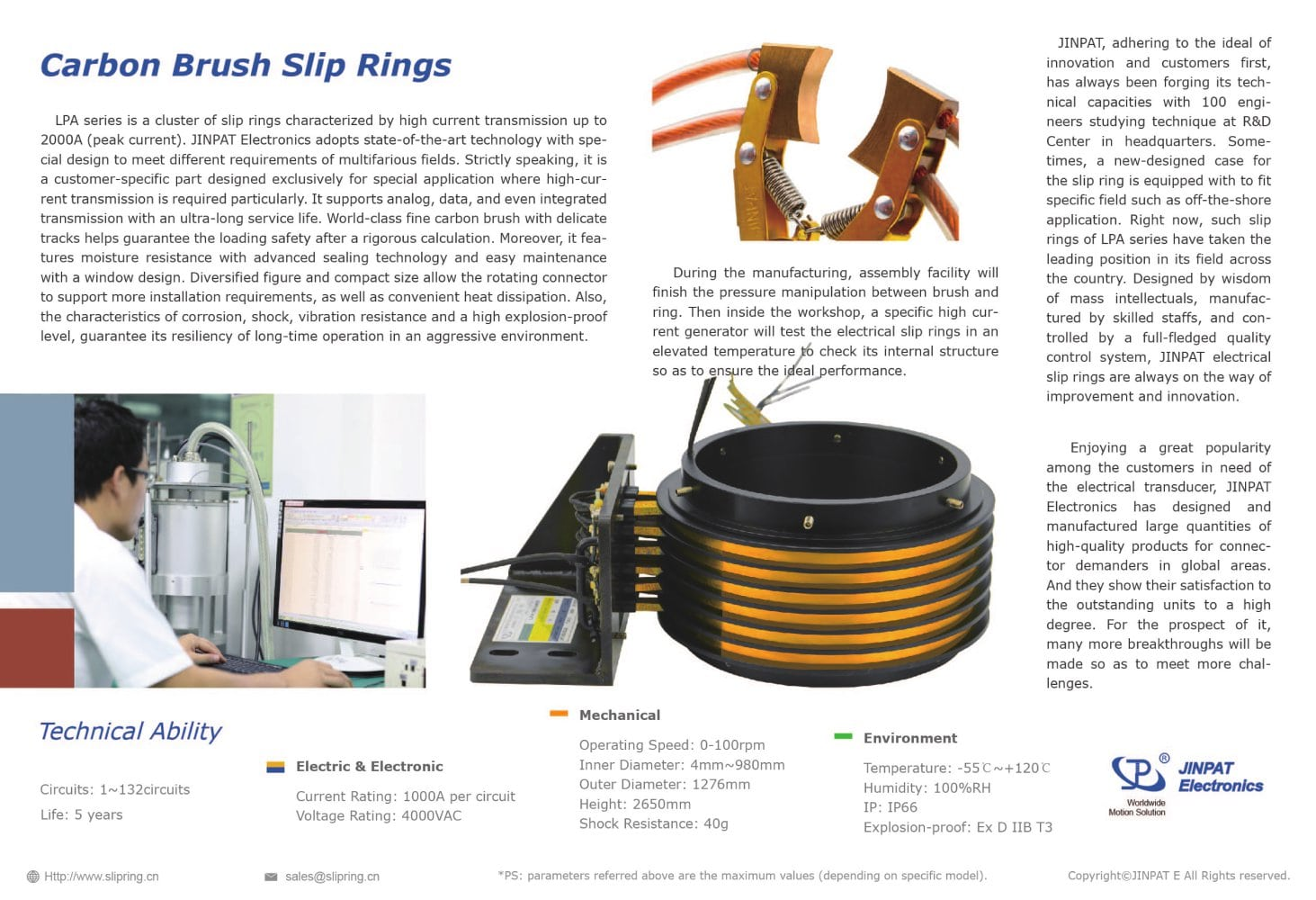 Jinpat Carbon Brush Slip Ring Electronics Co Ltd Pdf Everything Electrical How To Test Circuits Like A Pro Part 1 Pages