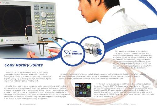 JINPAT Coax Rotary Joint