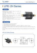 LPR-2H Pin Connection Slip Ring