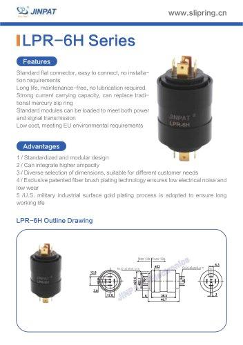 LPR-6H Pin Connection Slip Ring