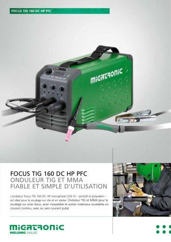 FOCUS TIG 160 DC HP PFC