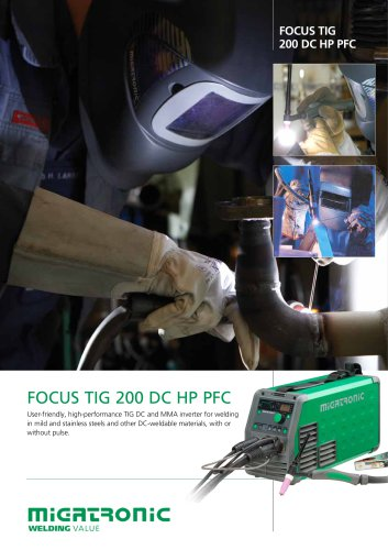 Focus TIG 200 DC PFC