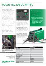 Focus TIG 200 DC PFC - 2