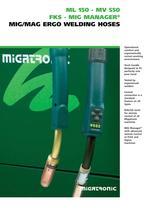 ML 150 - MV 550 MIG/MAG Ergo Welding Hoses - 1