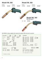 ML 150 - MV 550 MIG/MAG Ergo Welding Hoses - 4