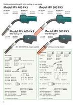 ML 150 - MV 550 MIG/MAG Ergo Welding Hoses - 6