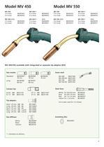 ML 150 - MV 550 MIG/MAG Ergo Welding Hoses - 7
