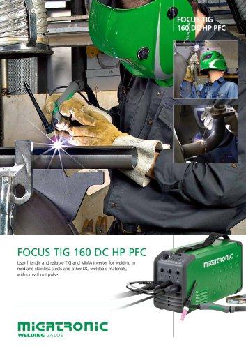 OrderFocus TIG 160 DC PFC