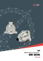 RION/voltage 0~5v output MEMS accelerometer vibration sensor/AKF390
