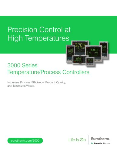 3000 Series Controllers Brochure (HA028000USA Iss 8)