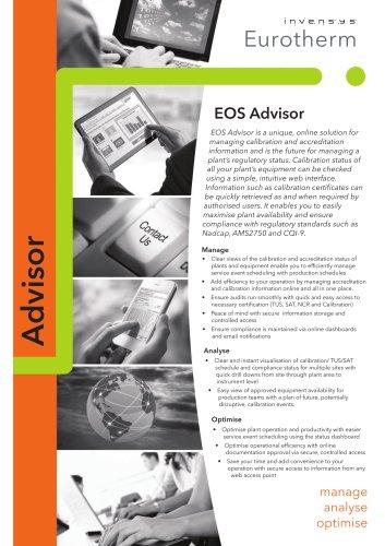 EOS Advisor Overview