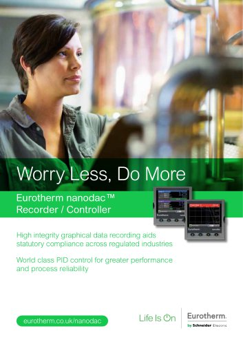 Eurotherm nanodac™ Recorder / Controller