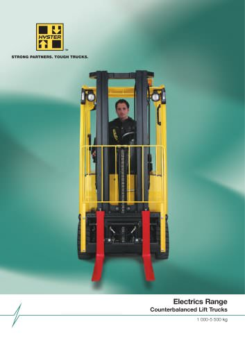 Electrics Range - Counterbalanced Lift Trucks