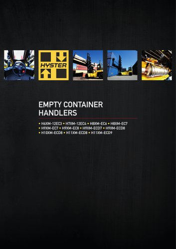 EMPTY CONTAINER HANDLERS