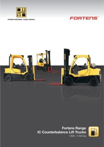 Fortens Range - IC Counterbalance Lift Trucks