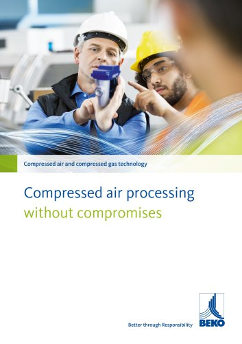 Compressed air and compressed gas technology