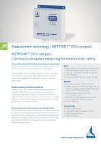 oil vapour measuring with METPOINT OCV compact