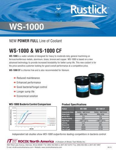 WS-1000 & WS-1000 CF
