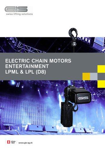 Electric chain hoists entertainment (D8) 500 + 1000 kg