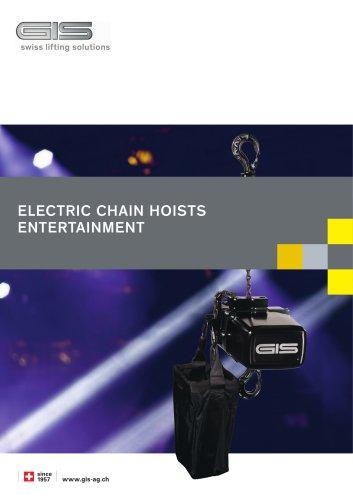 Electric chain hoists entertainment LP + LCH