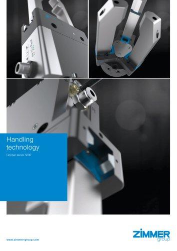 Handling technology Gripper series 5000