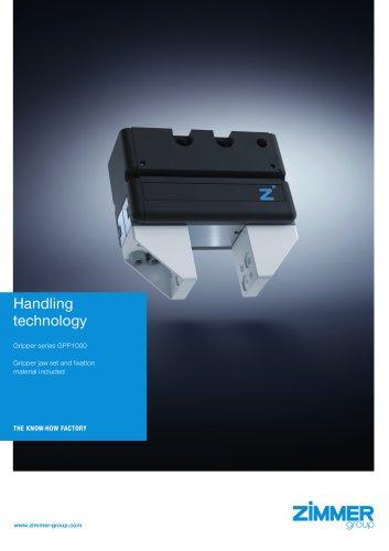 Handling technology Gripper series GPP1000