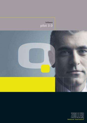Intelligent machine control software »pilot 3.0«