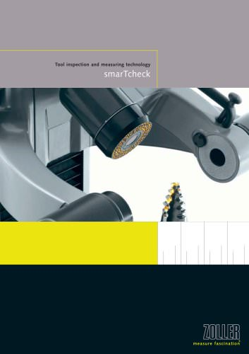 The tool inspection product line »smarTcheck«