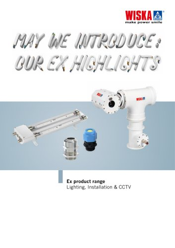 Explosion proof products