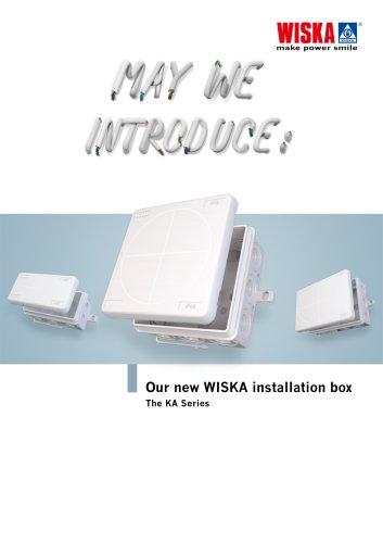 Our new WISKA installation box - The KA series