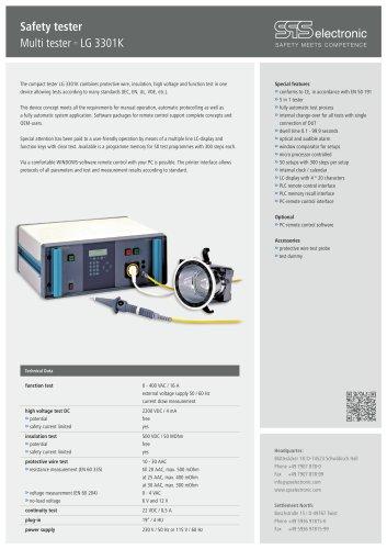 Data sheet LG 3301K