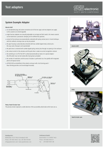 Test adapter