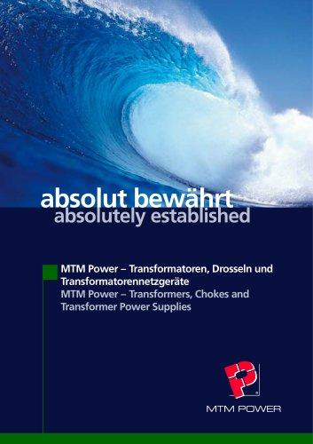 MTM Power Transformers, Chokes and Transformer Power Supplies