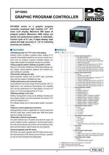 Digital Program Controller DP1000G