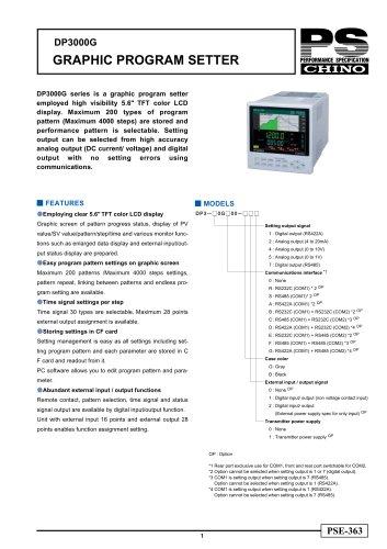 Digital Program Setter DP3000G