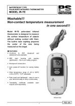 RADIATION THERMOMETERS Portable model