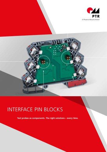PTR HARTMANN Interface Pin Blocks - Brochure