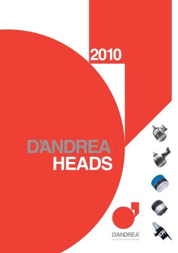 CATALOGUE D'Andrea HEADS