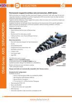 DSM-Series AXIS SERVOMOTORS - 1