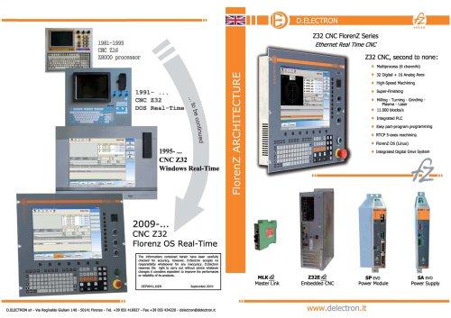Z32 CNC FlorenZ Series - FlorenZ architecture